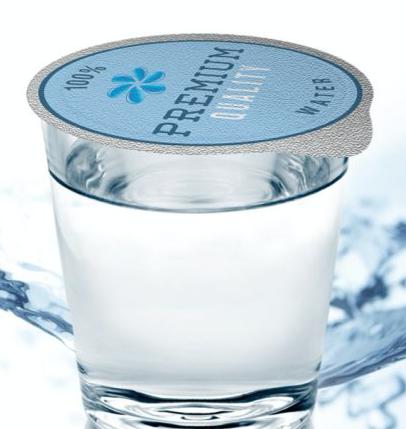 Die Cut Aluminum Water Cup Lids water2